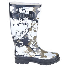 Oil Painting Rubber Rain Boots from China (mainland)