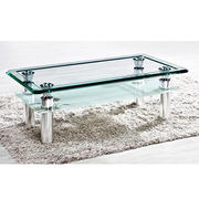 Wholesale New Paint tempered glass coffee table match/end te, New Paint tempered glass coffee table match/end te Wholesalers
