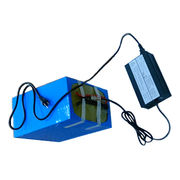 24V/50Ah rechargeable LiFePO4 battery pack from China (mainland)