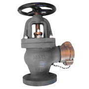Marine Cast Iron Angle Hose Valves Manufacturer