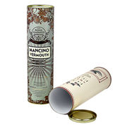 Paper Round Corrugated Wine Gift Tubes Manufacturer