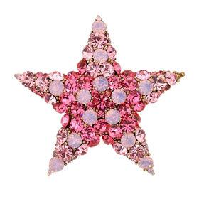 Fashion Crystal Brooch from China (mainland)