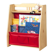 2015 Colorful Portable Kid's Wooden Bookshelf from China (mainland)
