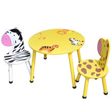 Children's Wooden Table and Chairs from China (mainland)