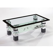 Wholesale Modern tempered glass coffee table match/end table, Modern tempered glass coffee table match/end table Wholesalers