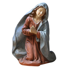 Large Decorative Resin Nativity set Mary Statue Manufacturer