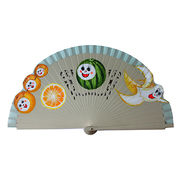 Spanish Hand-painted Wooden Fan Manufacturer
