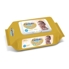 Eco-friendly flushable nonwoven baby wipes from China (mainland)