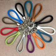 Braided Leather Keychain from China (mainland)