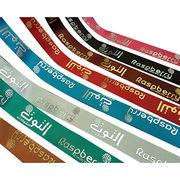 Printed satin ribbon from China (mainland)