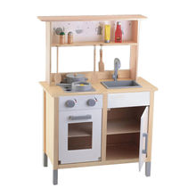 2015 children's wooden kitchen play set toy