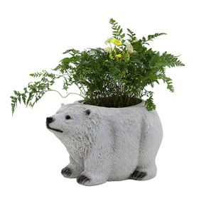 New Decorative Polyresin Polar Bear statue from China (mainland)