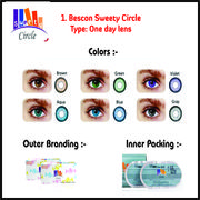 Wholesale One day Color Contact Lens, One day Color Contact Lens Wholesalers