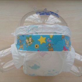 Cute cartoon design backsheet baby diapers from China (mainland)