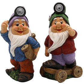 Decorative Resin Gnome garden Ornaments Manufacturer