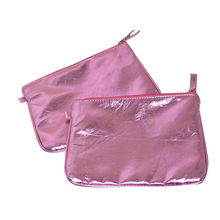 Metallic Material PVC cosmetic bag from China (mainland)