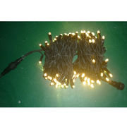 10M 100 Bulbs LED Rubber Cable String Lights from China (mainland)