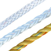 PP Braided Rope, Made of Polypropylene Fiber