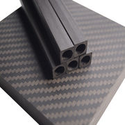 Outer square inner round pultrusion CFRP tube from China (mainland)