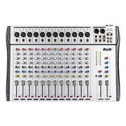 CT Mixer for Each Microphone New 12-channel Professional DJ USB Audio Mixer