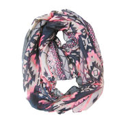 Ethnic Printed Coral Snood from China (mainland)