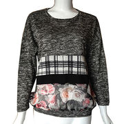 Knit and woven long sleeves blouses from China (mainland)