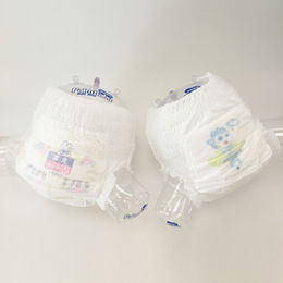Merries same model pant-shaped diaper from China (mainland)
