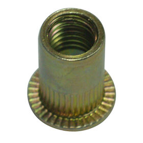 Blind Rivet Nut with Zinc Surface, Made of Steel