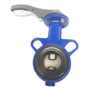 China Cast Iron Wafer Type Butterfly Valve