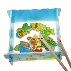 2015 funny magnet fishing game toy from China (mainland)
