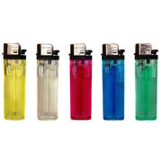 Vietnam Disposable Lighter in 5 Assorted Transparent Colors, Customized Designs are Accepted