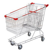 212L Australian Style Trolley Supermarket shopping from China (mainland)