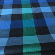 China Cotton yarn-dyed herringbone check shirting fabric