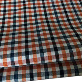 China Cotton yarn-dyed check shirting fabric