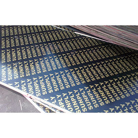 Black Film Faced Plywood from China (mainland)