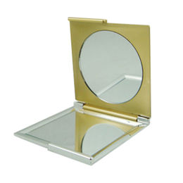 China double sided square plastic cosmetic mirror