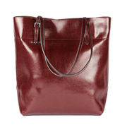 PU leather shoulder bag from China (mainland)