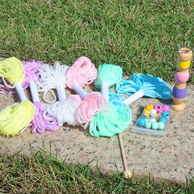 2015 kid's educational easy knit wool toy from China (mainland)