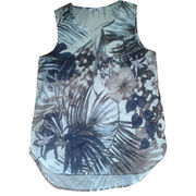 Women's woven tank top from China (mainland)