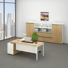 Office furniture steel & wooden table from China (mainland)