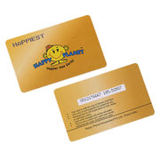 Blank Printable M1 RFID Smart Card from China (mainland)