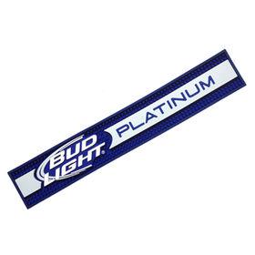 3D embossing logo PVC bar rail mat Manufacturer