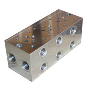 Hong Kong SAR China OEM factory manifold block, made of stainless steel/brass, special custom service provided