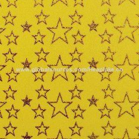 China Glitter printed EVA foam