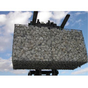 Galvanized gabion box, welded or weaved wire are available