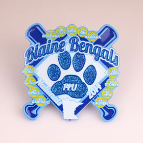 Baseball badges from China (mainland)