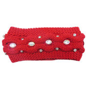 Cable Knitted Hair Band from China (mainland)