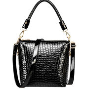 Ladies genuine leather handbags with crocodile leather chic style for 2015