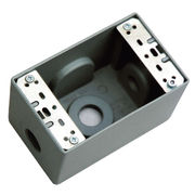 UL-approved One Gang Deep Weatherproof Outlet from China (mainland)