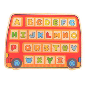 Alphabet Plywood Puzzles Toy from China (mainland)